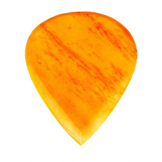 Jazzy Tones Max Orange Bone 1 Guitar Pick